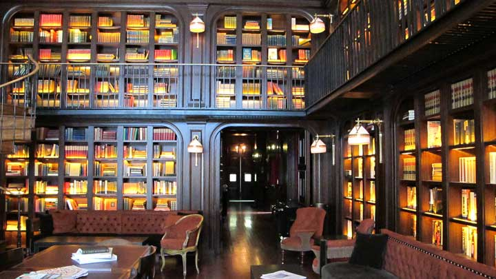 Library at Nomad Hotel
