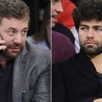 Adrian Grenier and James Dolan at Rochelle's