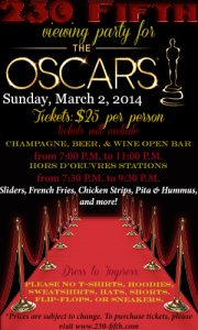 230 fifth oscar party