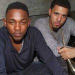 Kendrick Lamar and J. Cole at Guilded Lily