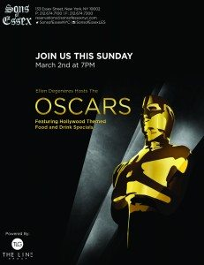 Sons of Essex Oscar flyer