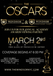 windsor oscar party