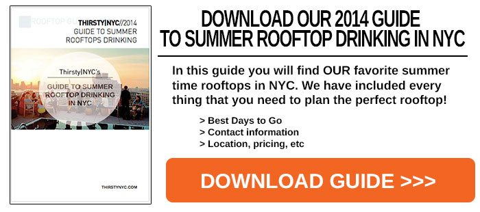 Guide to Summer Rooftop Drinking
