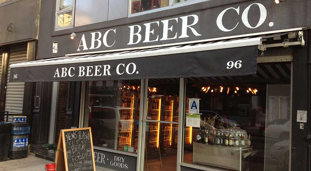 ABC Beer Company Alphabet City