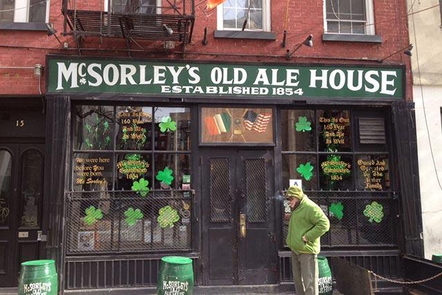 McSorley's Pub East Village
