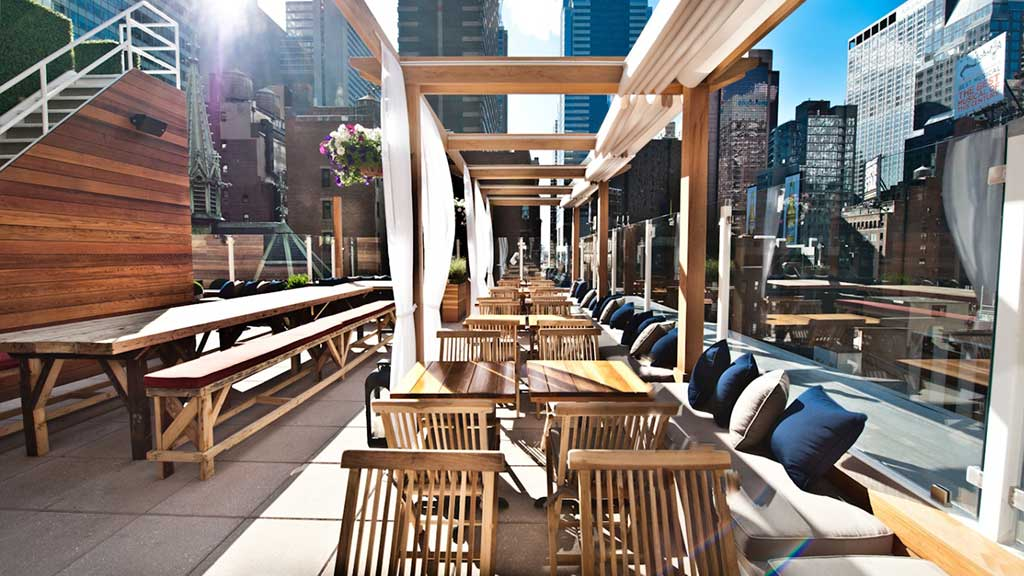 Indoor Garden Restaurant Nyc Best rooftop bars in new york city to drink haven rooftop new york city workwithnaturefo