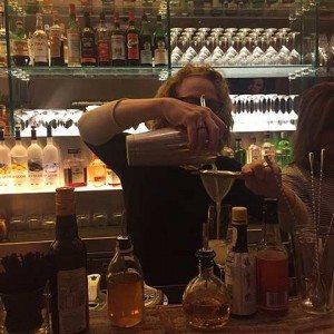 Straining Cocktails Casa Lever