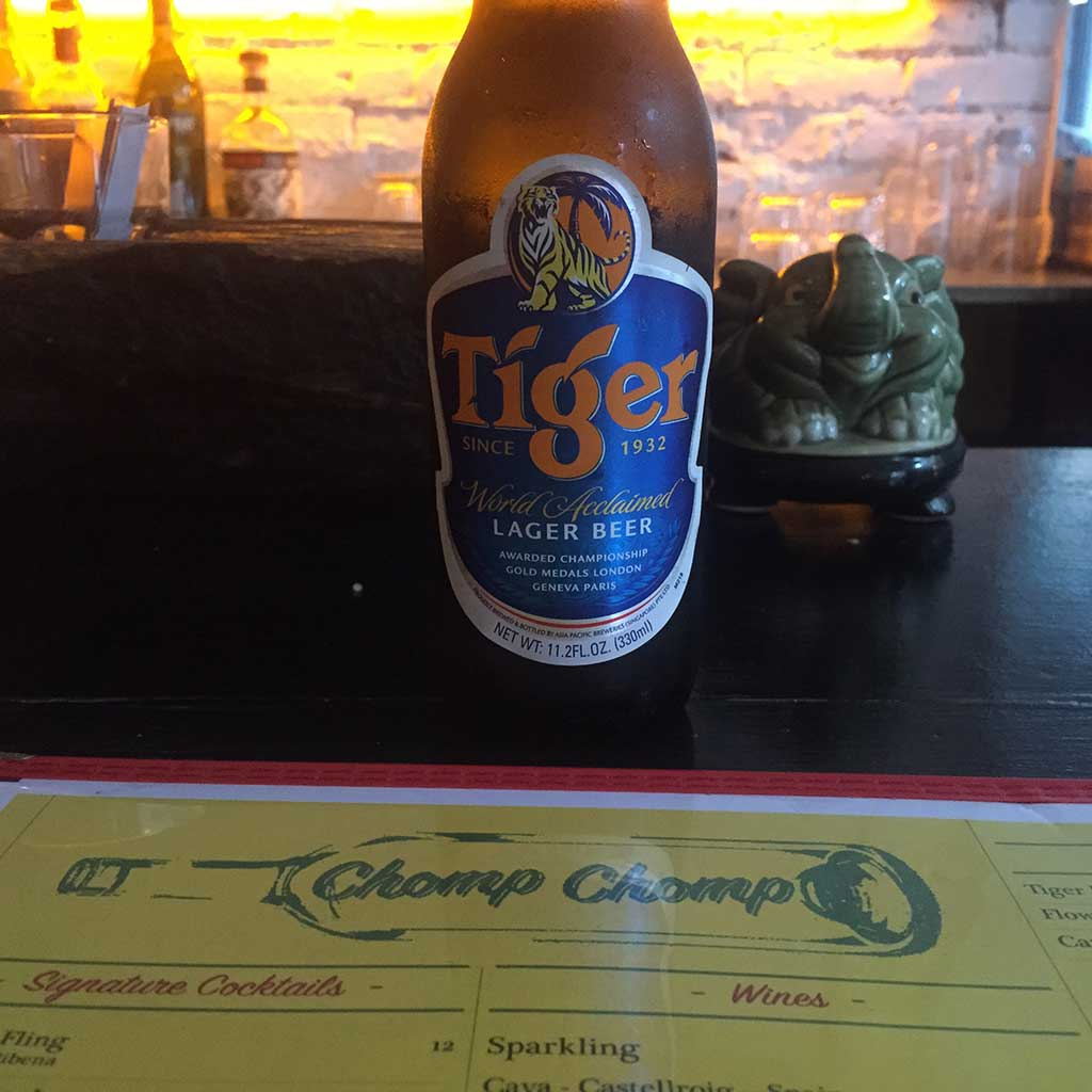 Tiger Beer Chomp Chomp