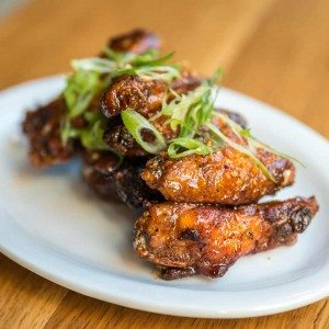 Baked Dry Rubbed Chicken Wings