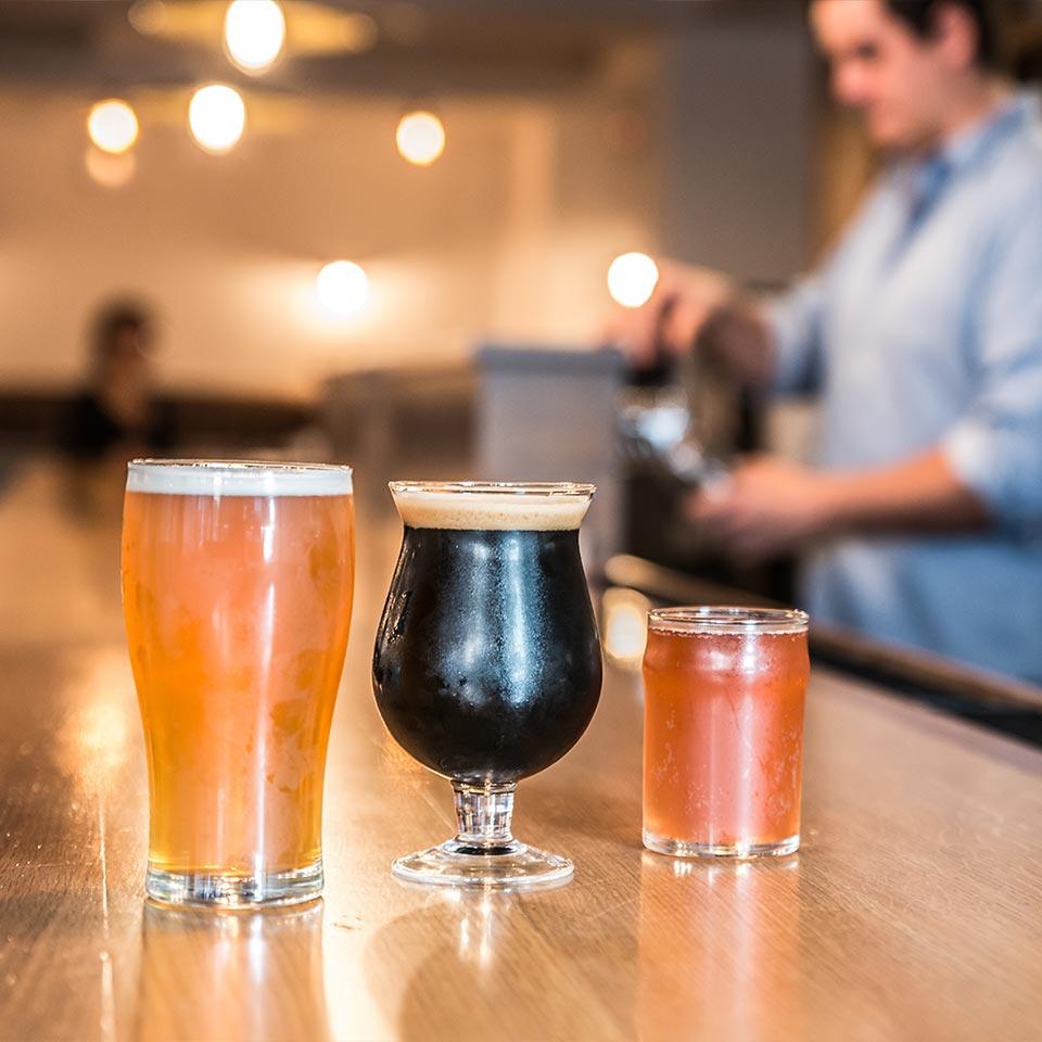 Craft Beer Haymaker Bar