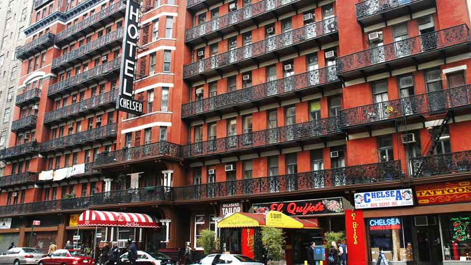 Hotel Chelsea Haunted Place to Drink