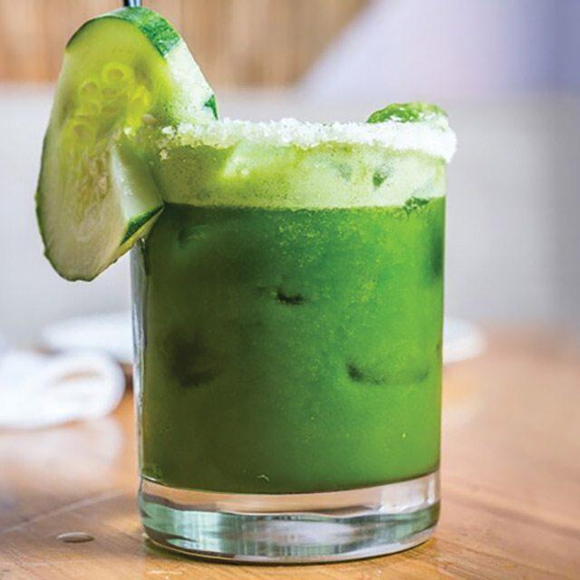 Green Juice Green Juice Margarita at Dos Caminos