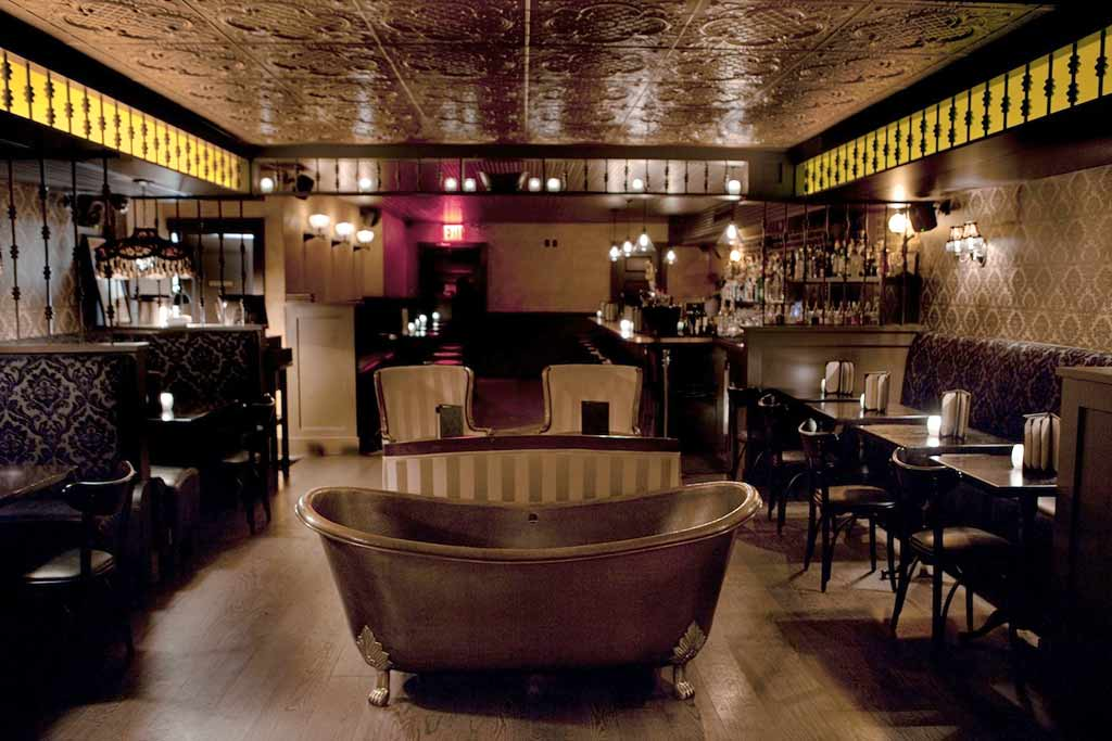 Bathtub Gin cocktail bar Chelsea
