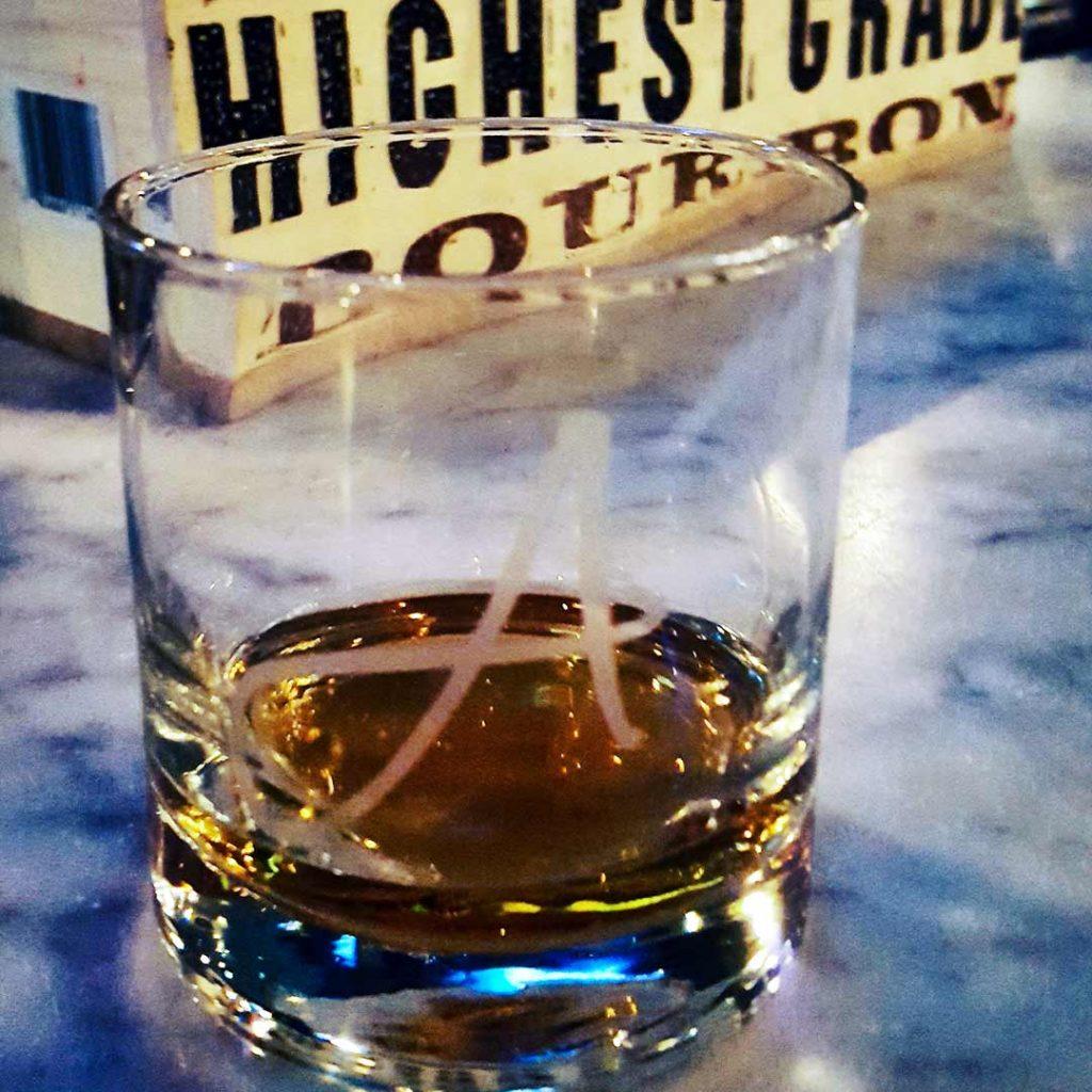 Bulleit Bourbon Neat