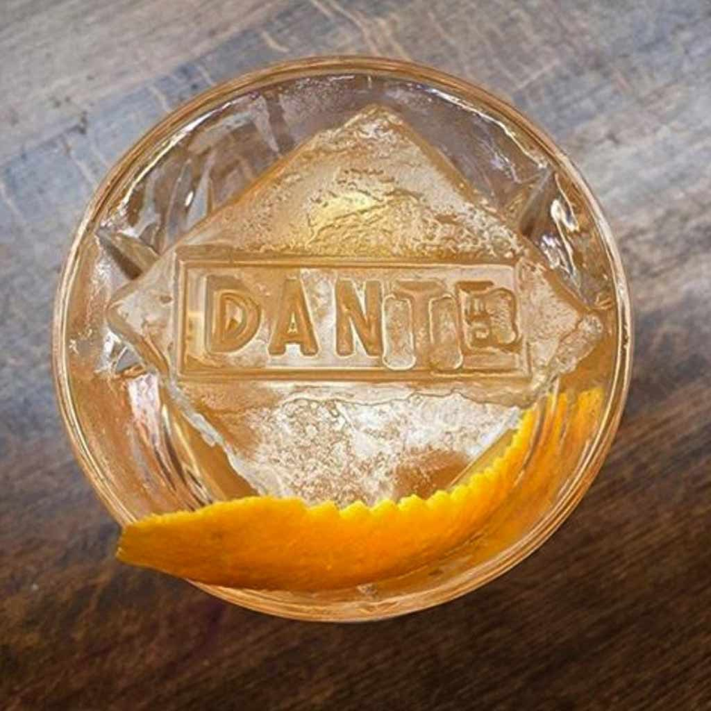 Dante NYC Old Fashioned Branded Ice
