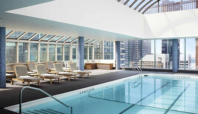Le Parker Meridian Rooftop Pool