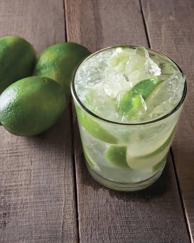 Caipirinha cachaca cocktail