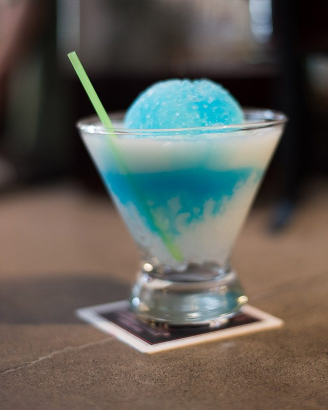Boozy Snow Cone Harlem Nights