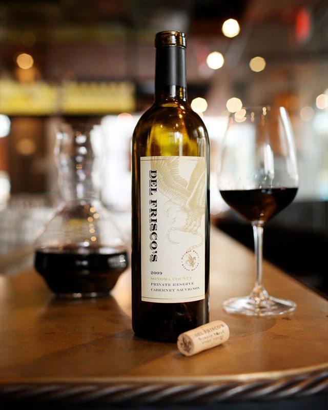Del Friscos Double Eagle Steak House Wine