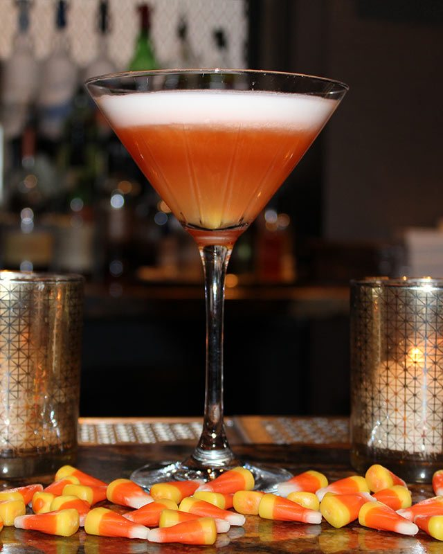 Candy Corn Martini at Hilton New Orleans Riverside