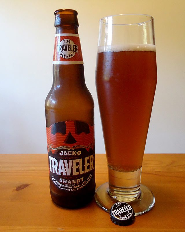 Jack-O-Traveler Pumpkin Shandy