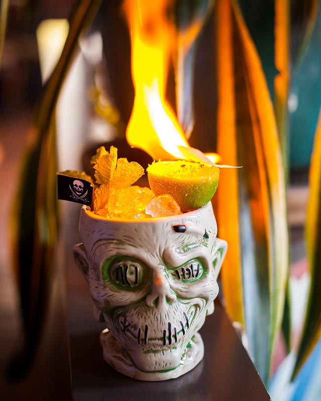 Cachaca Zombie at Mother of Pearl
