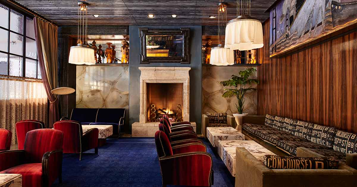 Warm Up This Winter At These Bars With Fireplaces In Nyc