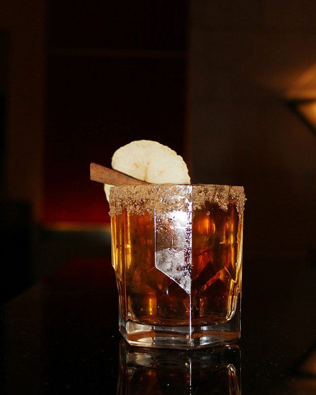 Bulleit Apple Pie at Four Seasons