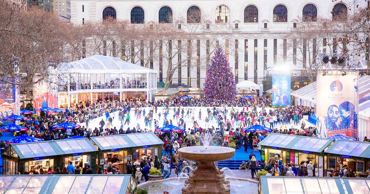 Winter Village at Bryant Park Opens for the Holidays | thirsty.