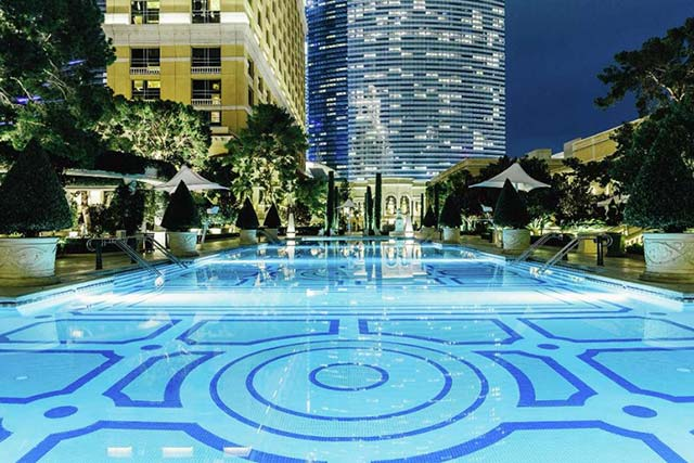Bellagio pools grand pool complex