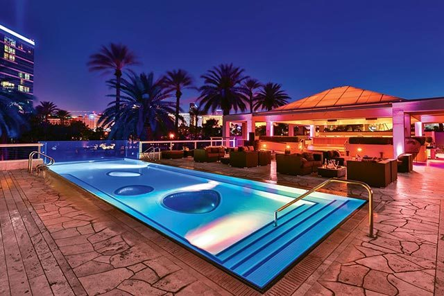 Breathe pool at Hard Rock Hotel Las Vegas