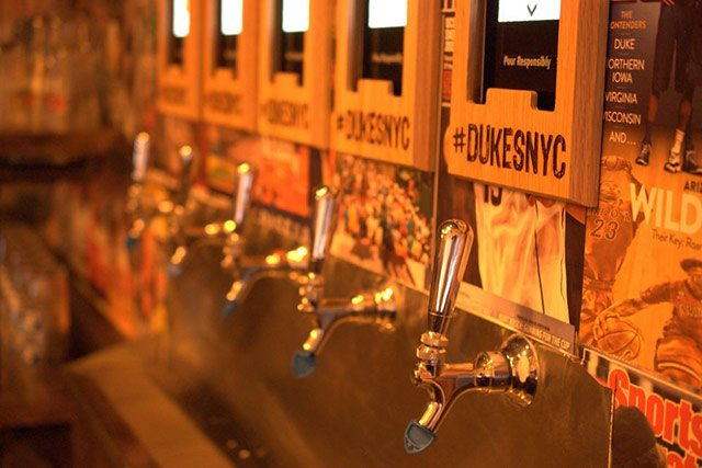 Duke's NYC Beer Taps