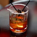 KIngs Old Fashioned at Porterhouse Bar and Grill
