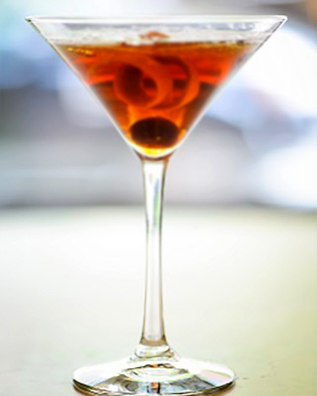 Maple Manhattan at Carmines