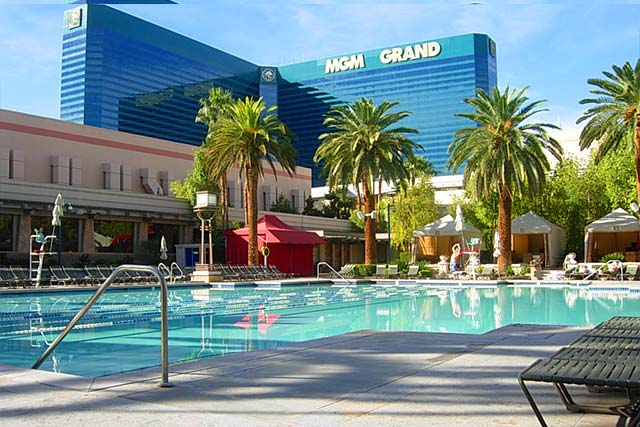 MGM Grand Pool Las Vegas