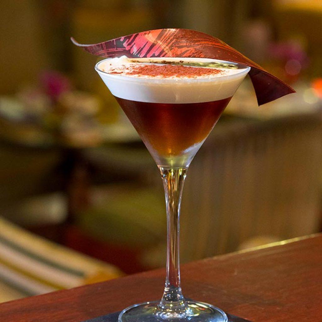 Tiramisu Cocktail at Hotel Metropole Monte Carlo