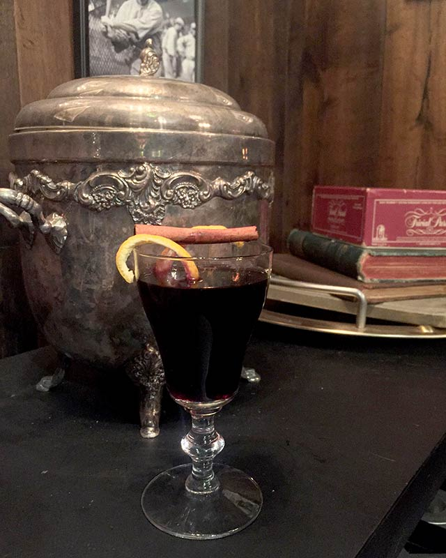 Mulled Wine at The Ribbon