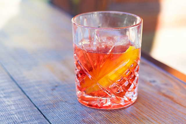 Sherry Negroni at Flinders Lane