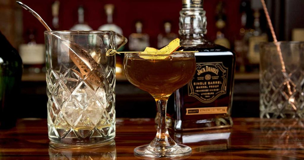 How to Make the Double Barrel Nanners by George Fiorini Bartender Albany