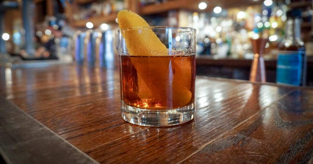 How to Make the Third Marriage Cocktail at American Whiskey Joey Vargas