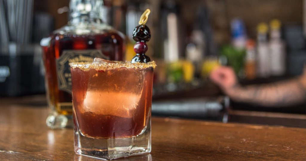 How to make Lady in Lynchburg by Tiffany Cataldo at Granary Tavern Boston