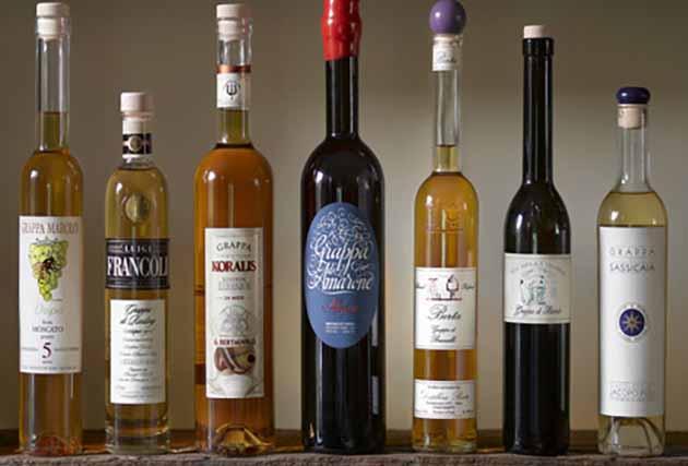 Grappa Bottles