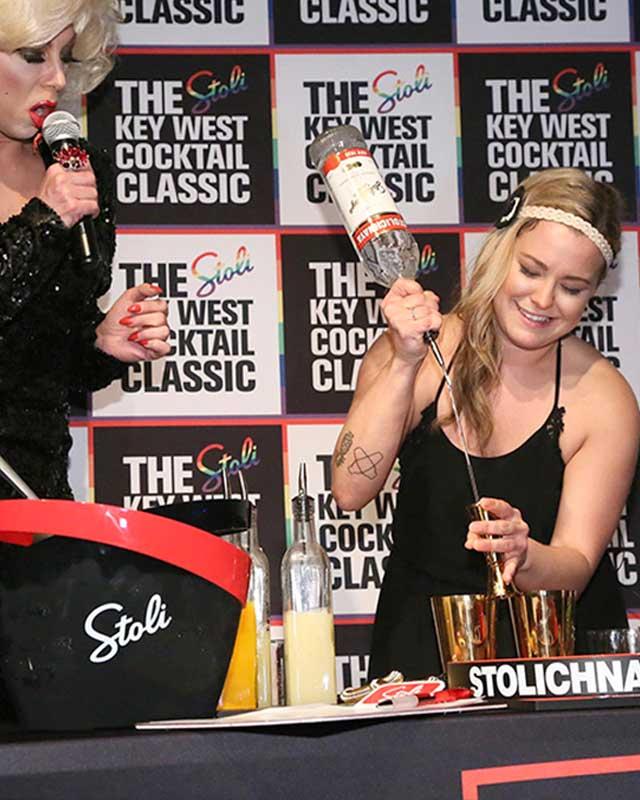 Kayla Hasbrook ABC Cocina Stoli Key West Cocktail Classic
