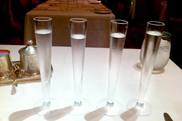 Vodka Flights at Russian Tea Room