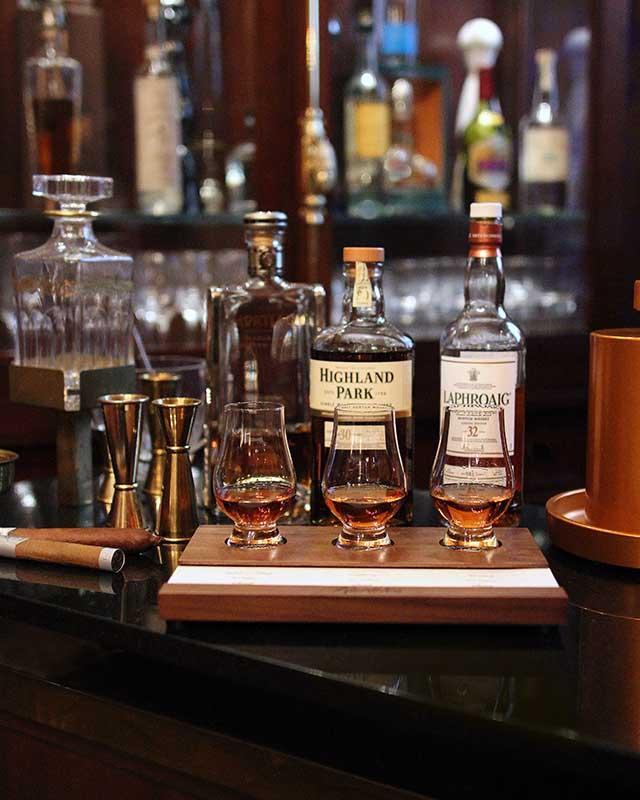 Rarities Whiskey Flights