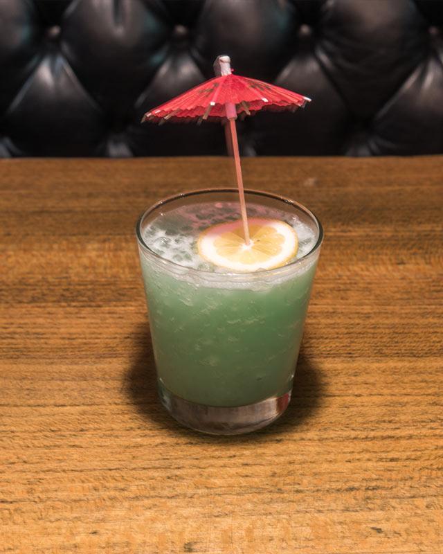 Shark at PDT's Hidden Coachella Cocktail Bar