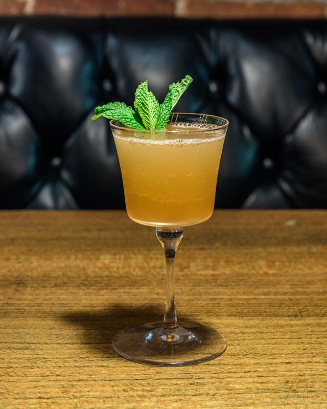Sweet Tea Sour at PDTS Hidden Cocktail Bar at Coachella