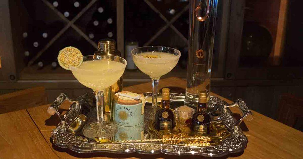 DÔA Miami Beach Royal Gold Margarita plated
