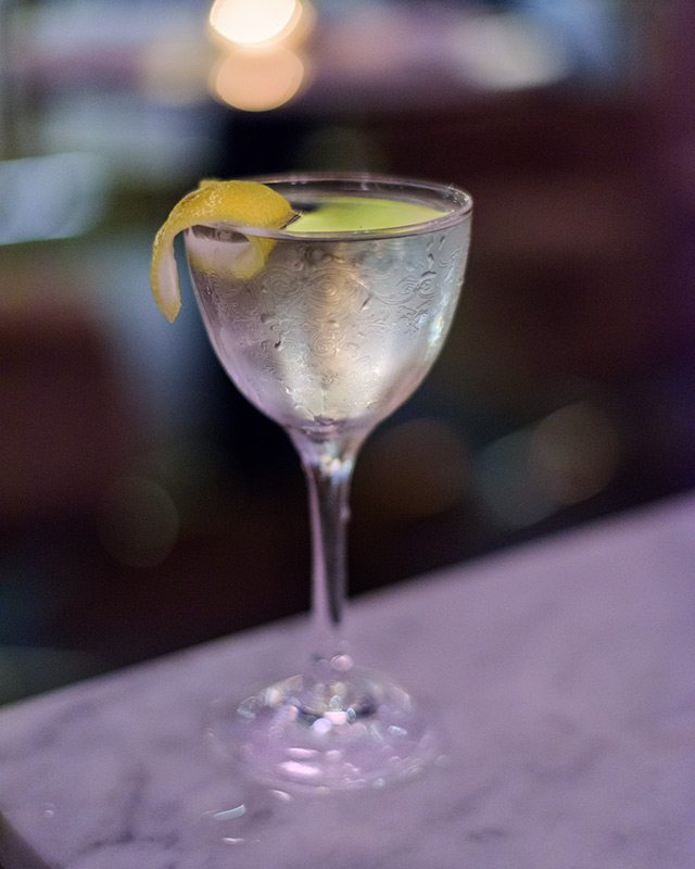 50-50 Absolut Elyx Martini at the Vnyl National Martini Day