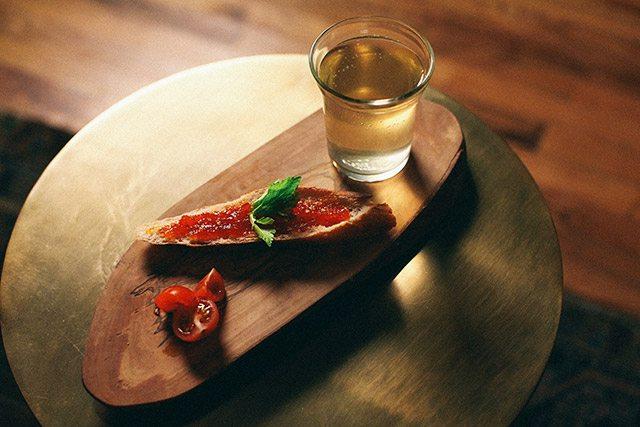 Clarified Bloody Mary at Walker Inn Koreatown LA